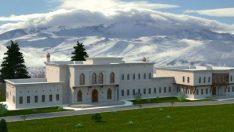 Erciyes Dağı'na Cumhurbaşkanlığı Köşkü