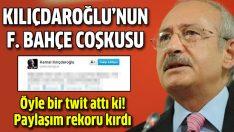 Kılıçdaroğlu'nun Fenerbahçe sevinci