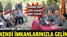 Gazeteciler Kandil Dağı'na akın etti!