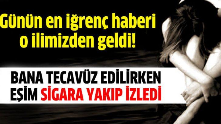 Antalya'da eski eşe tecavüz şoku: Sigara yakıp izlemiş