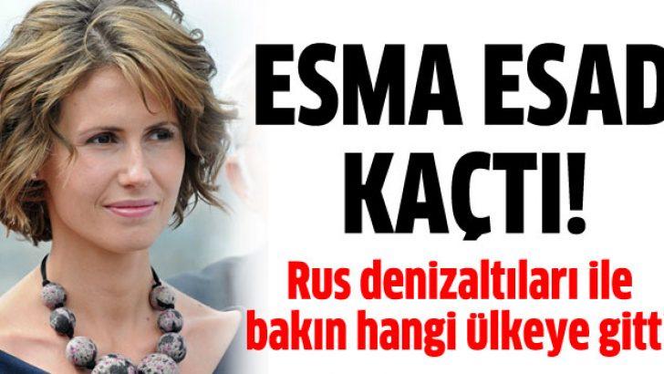 Esma Esad Rus denizaltılarla hangi ülkeye kaçtı?