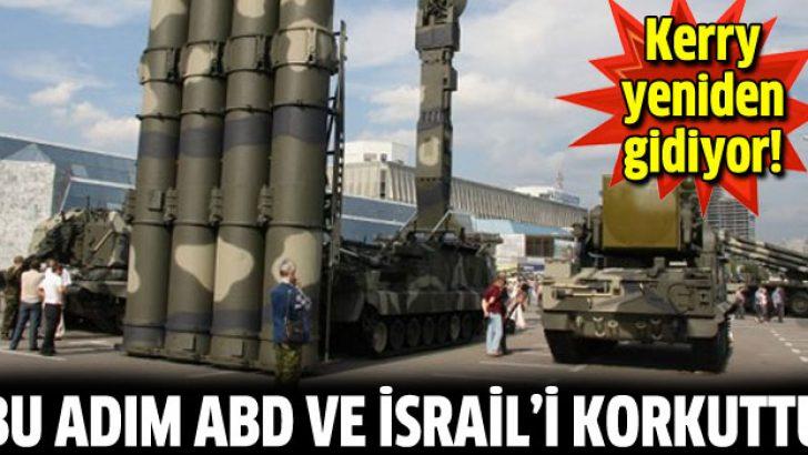 Suriye'den ABD ve İsrail'i korkutan adım
