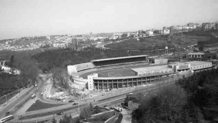İnönü Stadı'nın ilk görüntüsü