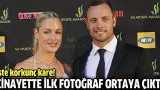 Pistorius cinayetinden ilk fotoğraf