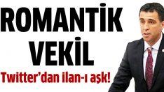 Hakan Şükür'den Twitter üzerinden ilan-ı aşk
