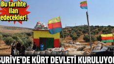 PYD Suriye'de Kürt devleti kuruyor