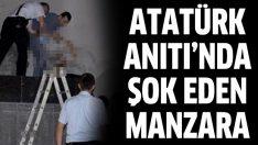 Atatürk Anıtı'nda çocuk ölüsü bulundu