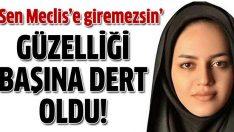 İran'lı Nina Moradi fazla güzel olduğu için meclisten atıldı