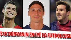 İşte dünyanın en iyi 10 futbolcusu