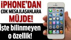 iPhone'un bilinmeyen özelliği!