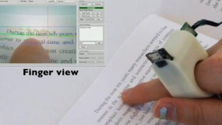 Görme engelliler için mucize buluş: FingerReader
