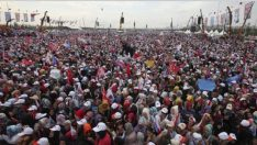 Erdoğan'ın İstanbul Maltepe mitingine kaç kişi katıldı?