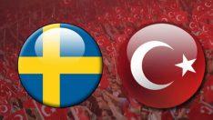 İsveç Türkiye maçı saat kaçta hangi kanalda?
