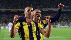 Fenerbahçe'ye galibiyeti Slimani getirdi