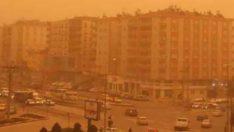 Güneydoğu'da toz fırtınası!