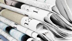 Günün gazete manşetleri – 29 Ekim 2018