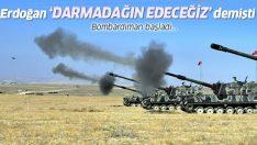 TSK, Fırat'ın doğusu için harekete geçti: Bombardıman başladı!