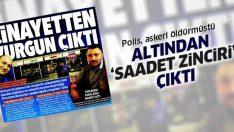 Ankara'da polisin astsubayı öldürüğü cinayetten 'saadet zinciri' çıktı!