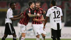 Milan – Juventus maçında ortalık karıştı! Higuain, Milan Juventus maçına damga vurdu!