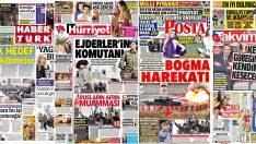 20 Ocak 2018 günün gazete manşetleri
