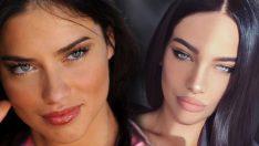 Adriana Lima'ya ikizi kadar benziyor… Rus model, Adriana Lima'nın tahtına oturacak!