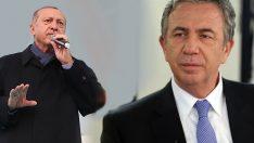Cumhurbaşkanı Erdoğan, Mansur Yavaş'ı seçim afişi üzerinden eleştirdi