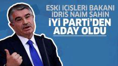 Eski İçişleri Bakanı İdris Naim Şahin, İyi Parti'nin Ordu adayı oldu!