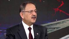 Mehmet Özhaseki Ankara'ya yönelik projelerini anlattı