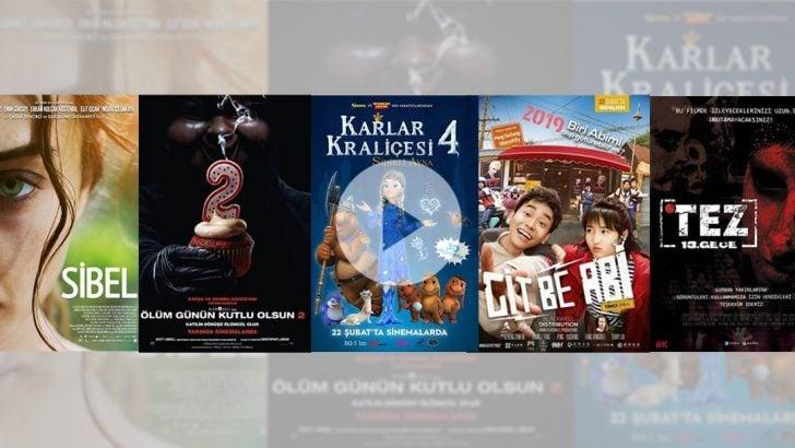 Sinemada haftanın filmleri (22 Şubat 2019)