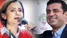 CHP'li Canan Kaftancıoğlu'ndan Demirtaş'a övgüler.. 'Omuz omuza mücadele ettik'