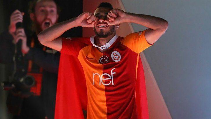 """Galatasaray'ın şampiyonluk kutlamasında Belhanda'dan şok hareket! """"Fener ağlama…"""""""