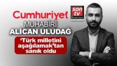 Cumhuriyet'in muhabiri Alican Uludağ 'Türk milletini aşağılamak'tan sanık oldu
