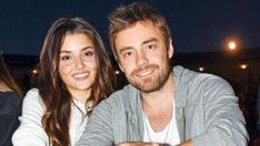 Hande Erçel ve Murat Dalkılıç'ın müşterek hayatı başladı