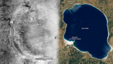 NASA, Salda Gölü'nü paylaştı