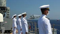 Doğu Akdeniz'de deniz eğitimleri gerçekleştirildi