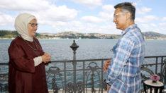Emine Erdoğan, Aamir Khan'ı kabul etti