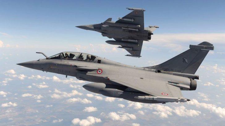 Fransız savaş uçakları, Güney Kıbrıs'a konuşlandı