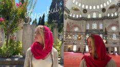 Johnny Depp'in eski eşi Amber Heard, İstanbul'da