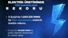 Bakan Dönmez: Elektrik üretimi rekoru kırdık