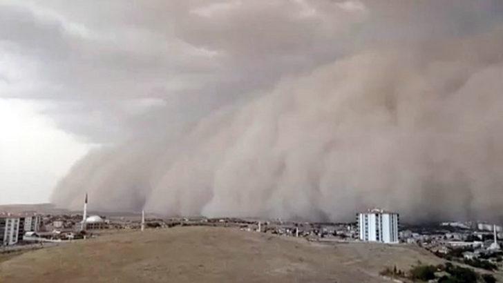 Kırıkkale için kum fırtınası uyarısı