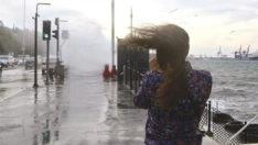 Meteoroloji, Marmara ve Ege için fırtına uyarısında bulundu