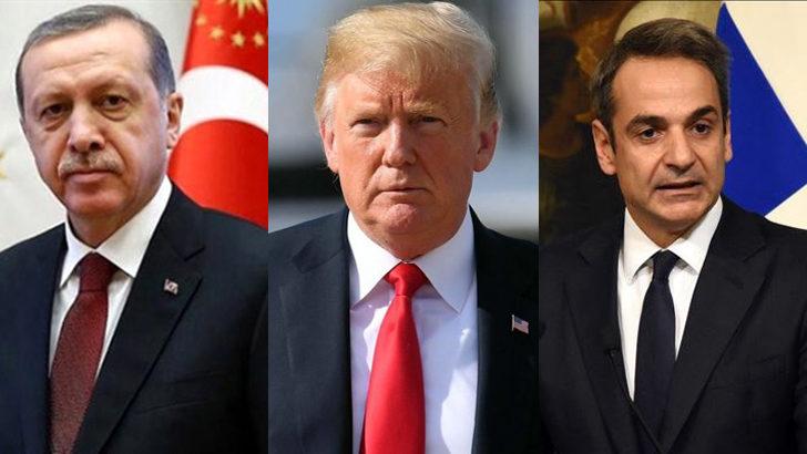 Trump, Erdoğan ve Miçoktakis ile görüşmek istiyor