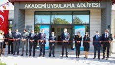 Türkiye Adalet Akademisi Uygulama Adliyesi açıldı