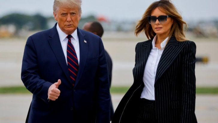 ABD Başkanı Trump ve eşi Korona oldu
