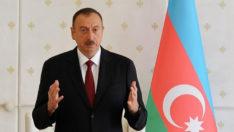 Aliyev: 30 yıl daha bekleyecek vaktimiz yok