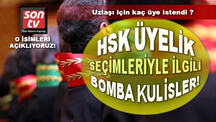 HSK seçimlerinde siyasi uzlaşma masada! Son TV açıklıyor