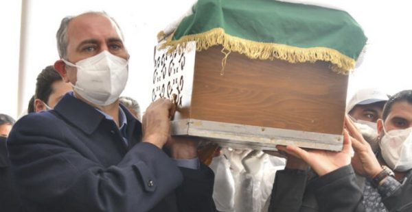 Adalet Bakanı Gül'ün annesi son yolculuğa uğurlandı