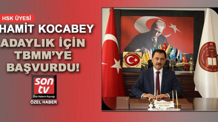 HSK üyeliği için merakla beklenen isim Hamit Kocabey başvuru yaptı!