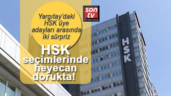 HSK seçimlerinde heyecan dorukta! Yargıtay'daki HSK üye adayları arasında iki sürpriz