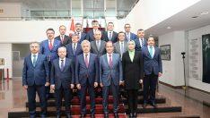 Danıştay Başkanı ve üyeleri HSK'yı ziyaret etti